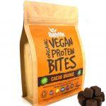 Cubetti proteine vegetali cacao arancia. BodyMe