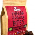 Cubetti di proteine vegetali barbabietola bacca. BodyMe