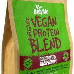 Miscela in polvere di proteine vegetali 1 Kg cocco lampone. BodyMe