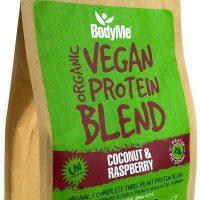 Miscela in polvere di proteine vegetali 1 Kg cocco lampone