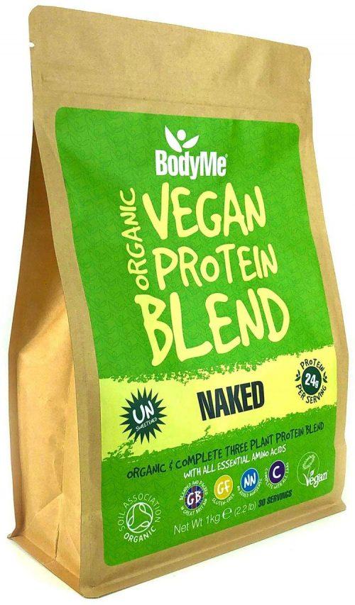 Miscela in polvere di proteine vegetali 1 Kg, Naked