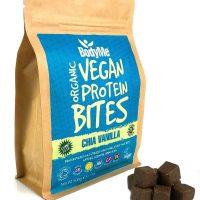 Cubetti di proteine vegetali chia vaniglia