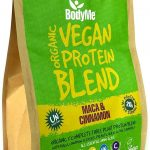 Miscela in polvere di proteine vegetali 1 Kg, maca cannella. BodyMe