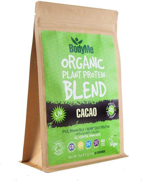 Miscela in polvere di proteine 1 Kg, cacao cocco