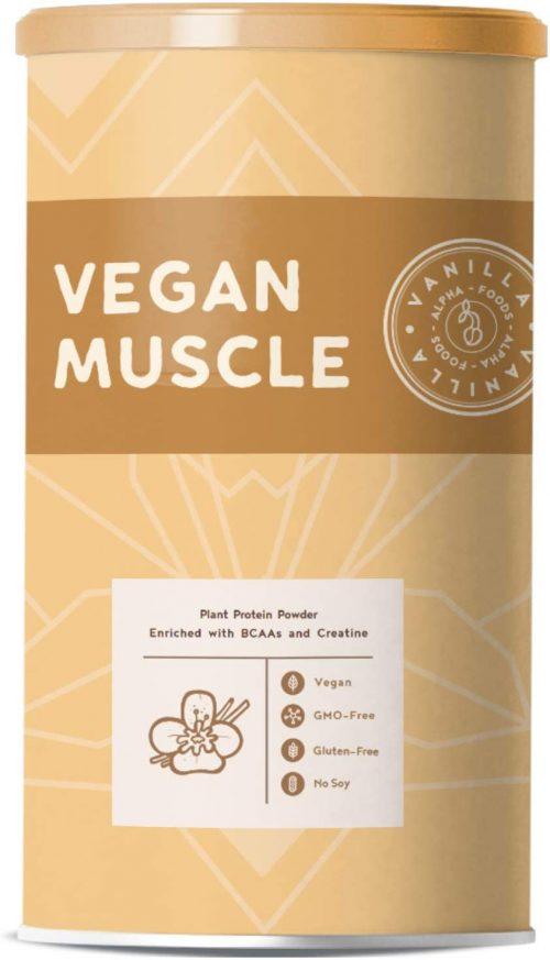 Vaniglia, proteine vegane muscolari