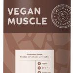 Cioccolato, proteine vegane muscolari.