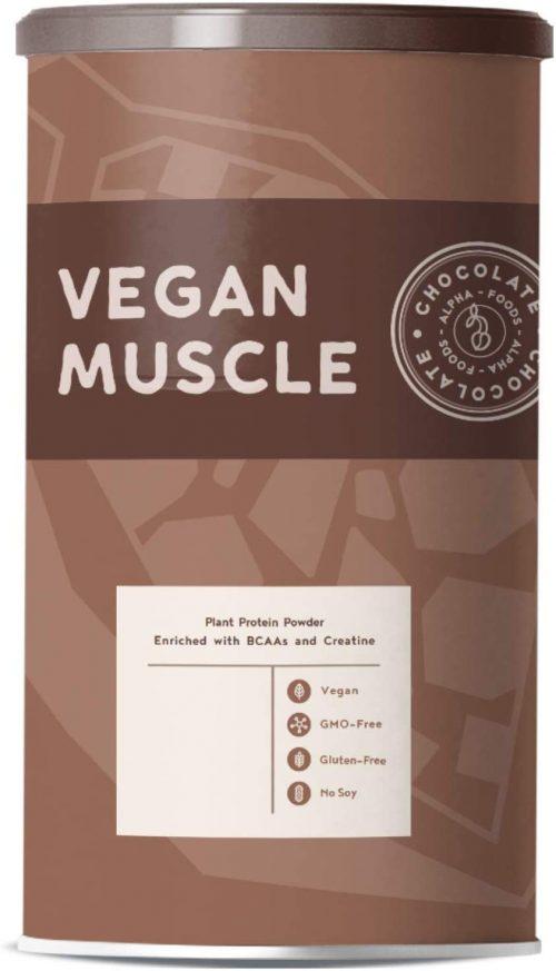 Cioccolato, proteine vegane muscolari