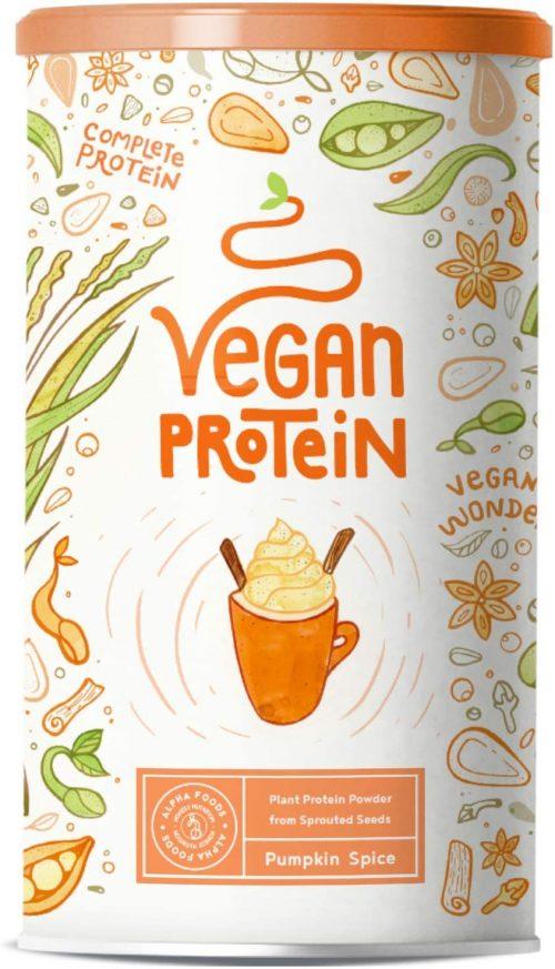 Zucca, proteine vegane