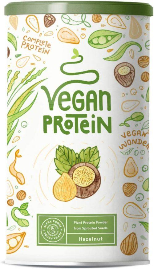 Nocciola, proteine vegane