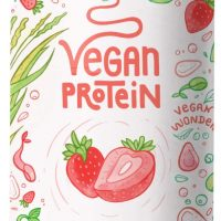 Fragola, proteine vegane