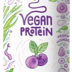 Mirtillo, proteine vegane. Alpha Foods.